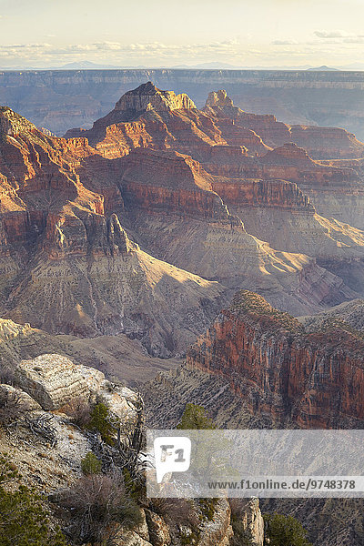 Felsbrocken Vereinigte Staaten von Amerika USA Landschaft Ehrfurcht Wüste Anordnung Arizona Page