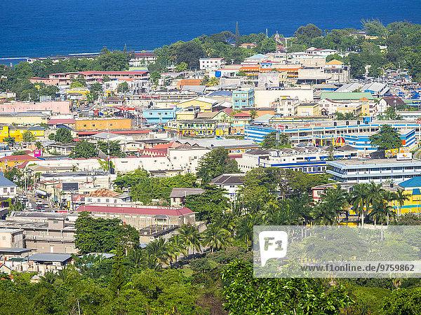 Karibik  Jamaika  Blick auf Ocho Rios
