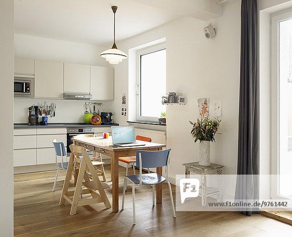 Interieur der Wohnküche