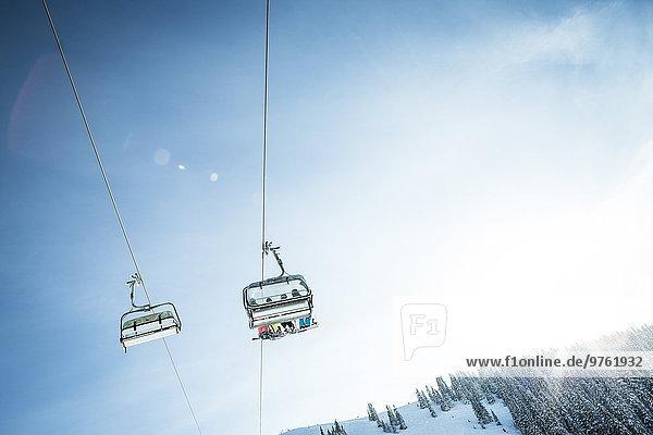 Österreich  Salzburger Land  Region Hochkönig im Winter  Ski Amade  Skilift