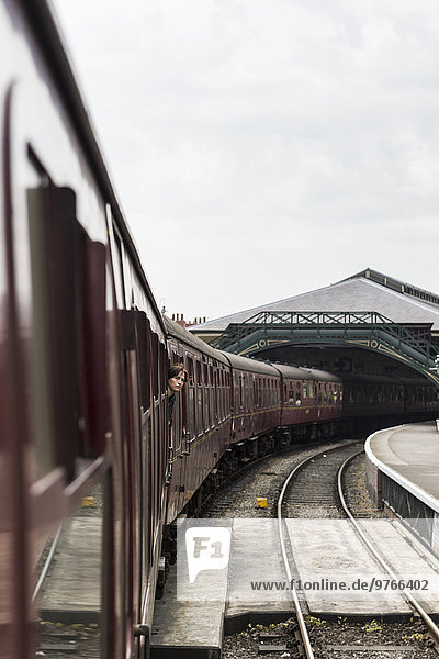 Museumsbahn North Yorkshire Moors Railway  Pickering  England  Großbritannien