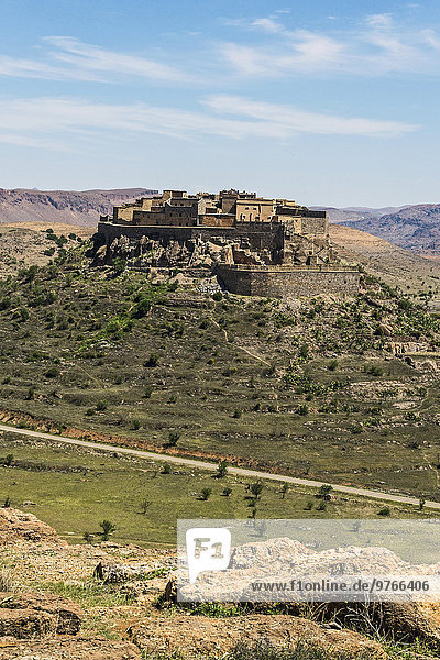 Bergdorf im Antiatlasgebirge  Marokko