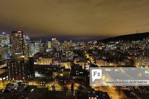 Nachtaufnahme von Montreal  Kanada