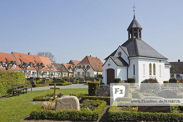 Friedhof in Schleswig  Schleswig-Holstein  Deutschland