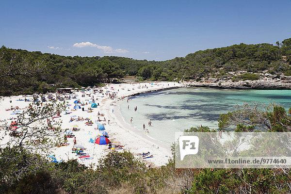 Europa Strand Insel Bucht Spanien