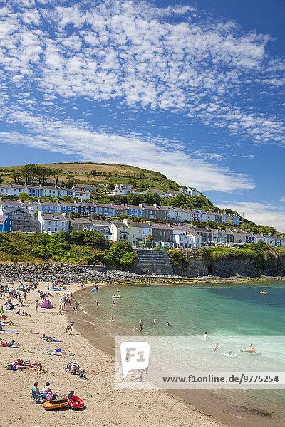 Europa Großbritannien Ceredigion Dyfed Wales
