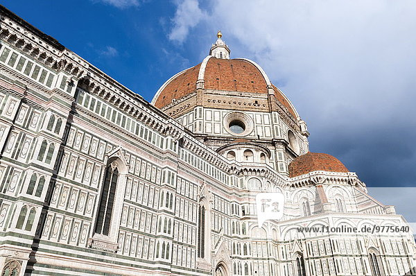 Kuppel Europa Kathedrale UNESCO-Welterbe Kuppelgewölbe Italien Toskana