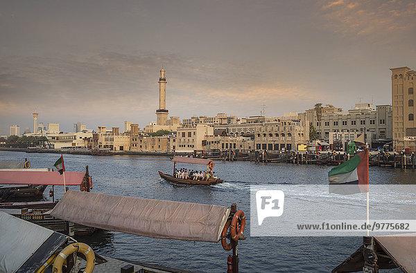 Vereinigte Arabische Emirate VAE Naher Osten Dubai Dubai Creek