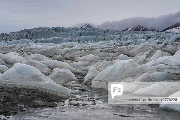 Europa Norwegen Spitzbergen Arktis Hornsund Skandinavien Svalbard