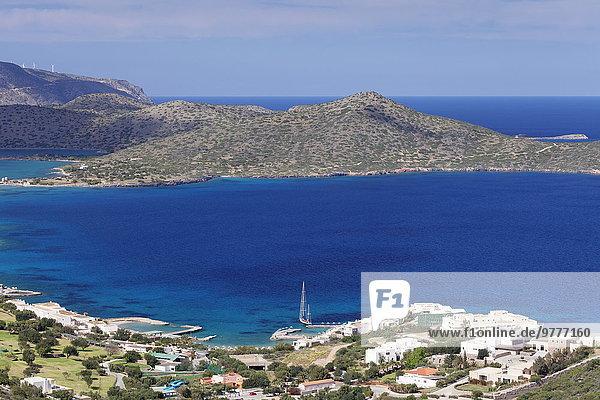 Europa Küste Urlaub Kreta Griechenland Griechische Inseln