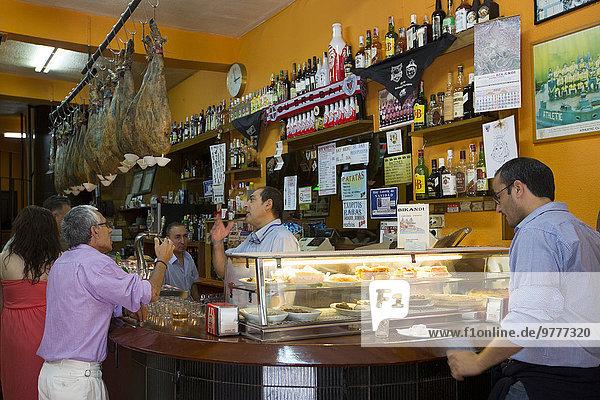 Europa Tradition Mittelpunkt Tapas Bilbao Spanien spanisch