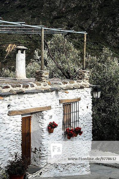 Dorf Andalusien Spanien