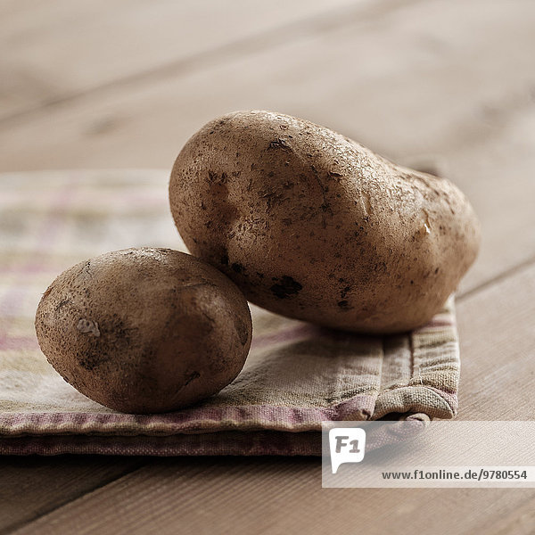 Kartoffel schießen Studioaufnahme