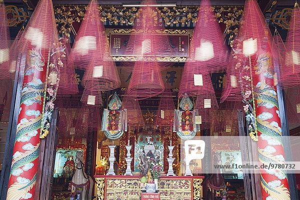 Quang Trieu (Cantonese) Assembly Hall  Hoi An  UNESCO World Heritage Site  Quang Nam  Vietnam  Indochina  Southeast Asia  Asia