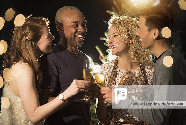 Freundschaft Fest festlich Neujahrstag