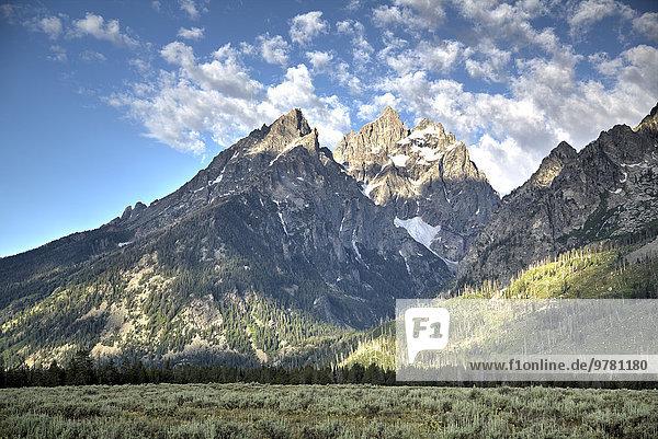 Amerika Nordamerika Verbindung Wyoming