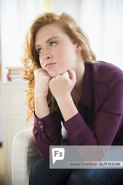 Portrait Frau Depression