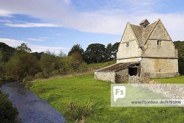 Europa Stein Großbritannien Cotswolds Jahrhundert England Gloucestershire