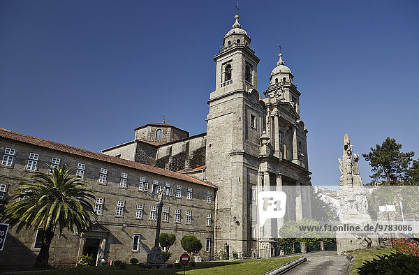 Church of San Francisco  Old Town  UNESCO World Heritage Site  Santiago de Compostela  Galicia  Spain  Europe