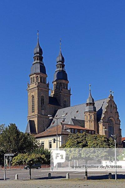 Sankt-Josephs-Kirche  Speyer  Rhineland-Palatinate  Germany  Europe