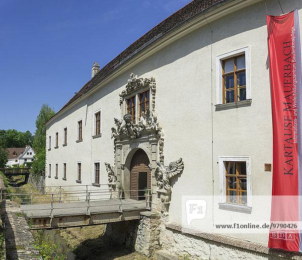 Eingangsbereich  Kartause Mauerbach  Niederösterreich  Österreich  Europa