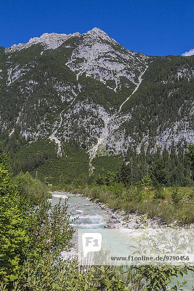 Hohe Munde  Leutasch in Tirol  Alpen  Österreich  Europa
