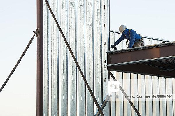 bauen Mann arbeiten