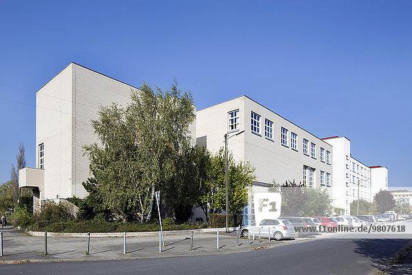 Hauptgebäude der Hochschule für Bildende Künste  HbK  Braunschweig  Niedersachsen  Deutschland  Europa
