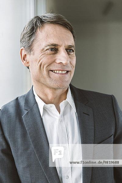 Porträt eines lächelnden Geschäftsmannes