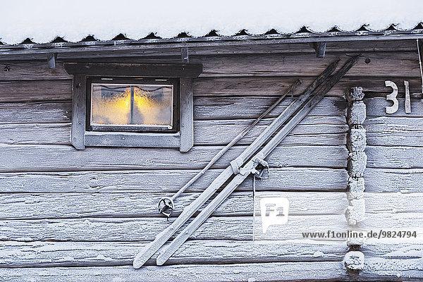 Ski Blockhaus Holzhaus