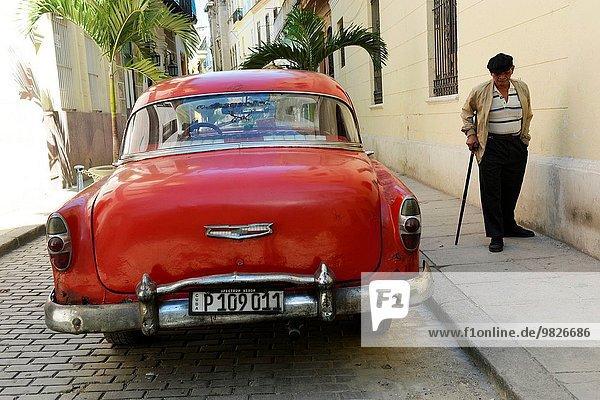 Havanna Hauptstadt Auto Retro Kuba kubanisch alt