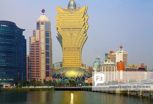 Weitwinkel Skyline Skylines China