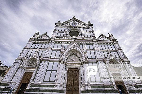 Basilica di Santa Croce  Kirche Santa Croce  Florenz  Toskana  Italien  Europa