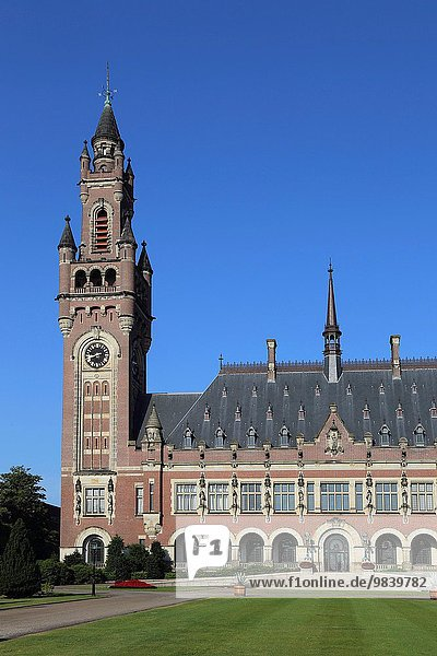 The Hague. Peace Palace Vredespaleis International Court of Justice  Permanent Court of Arbitration.