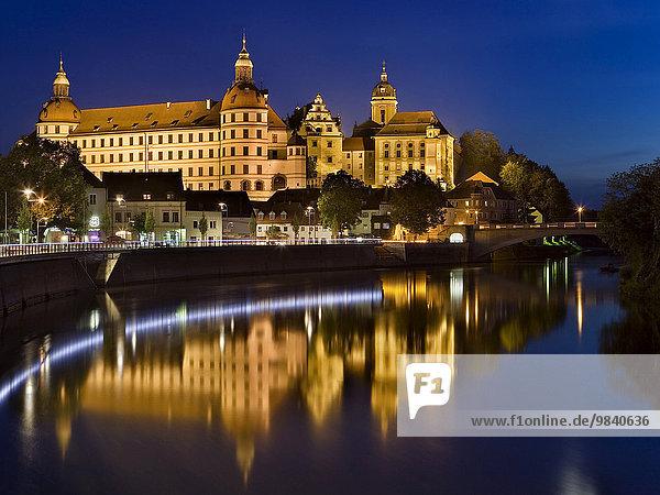Schloss Neuburg an der Donau  Neuburg  Bayern  Deutschland  Europa