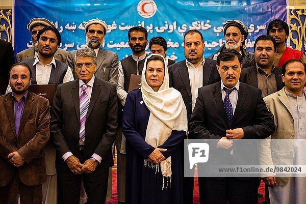 Kabul Hauptstadt Fest festlich arbeiten Produktion Gesellschaft rot Jubiläum Fotografie Afghanistan