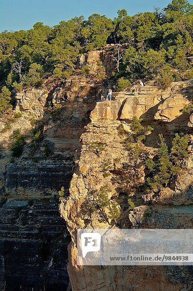 Detail Details Ausschnitt Ausschnitte Arizona Grand Canyon Nationalpark vorwärts Schlucht South Rim