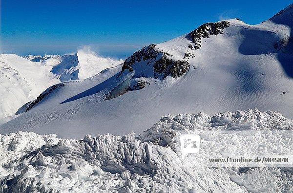Hintergrund Fokus auf den Vordergrund Fokus auf dem Vordergrund Saas Fee Hang Schweiz