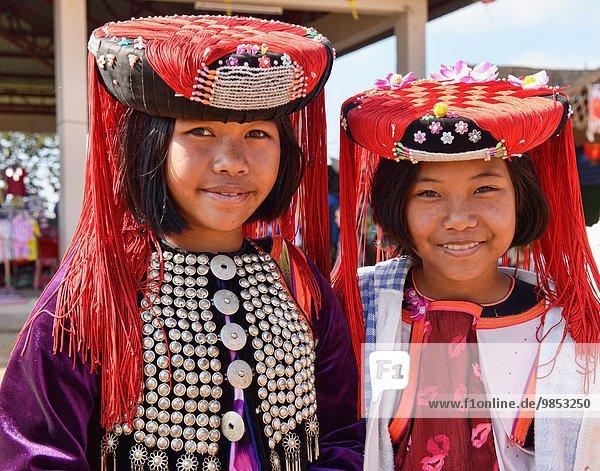 Portrait Mädchen Thailand