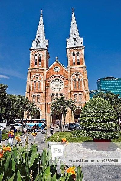 Saigon Notre-Dame Basilica  Ho Chi Minh City  Vietnam.