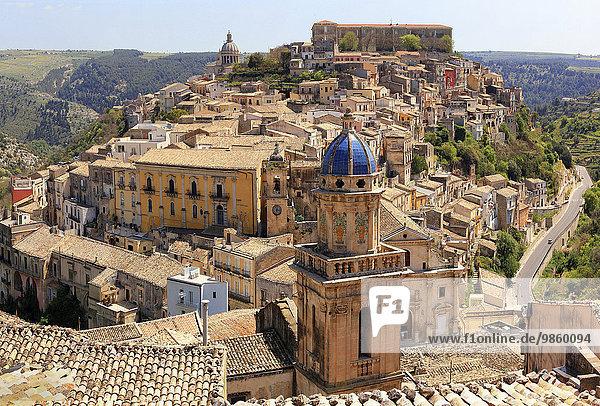 Ortsansicht  Ragusa  Sizilien  Italien  Europa