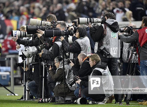 Pulk Sportfotografen  Fritz-Walter-Stadion  Kaiserslautern  Rheinland-Pfalz  Deutschland  Europa