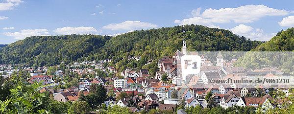 Stadtansicht  Horb am Neckar  Baden-Württemberg  Deutschland  Europa Stadtansicht, Horb am Neckar, Baden-Württemberg, Deutschland, Europa