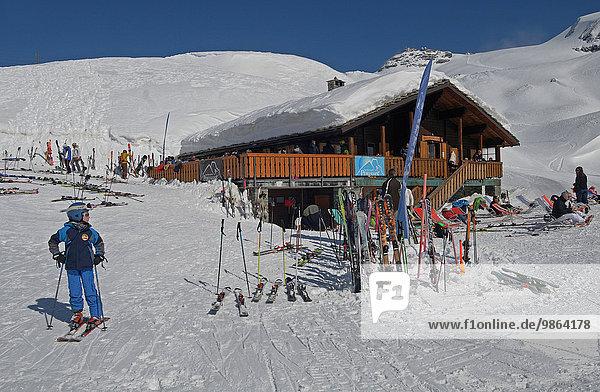Europa Breuil-Cervinia Aostatal Italien