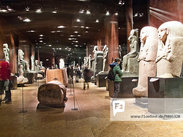 Italy Turin Egyptian Museum. It is the only museum other than the Cairo Museum that is dedicated solely to Egyptian art and culture.