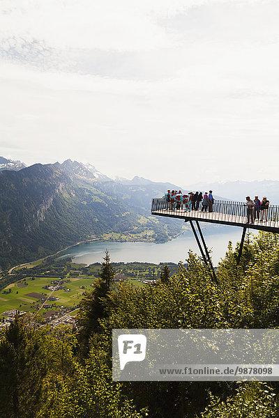 sehen Plattform hart Berner Oberland Interlaken