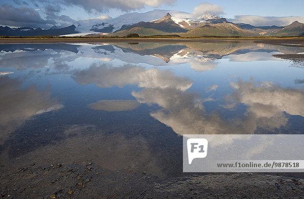 Wasser Schreibtisch Wolke Ruhe Alaska Bucht Katmai Nationalpark