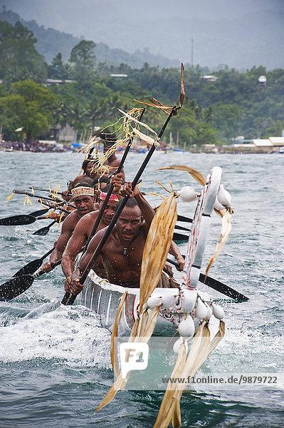 Kanu Teilnahme Festival Bucht