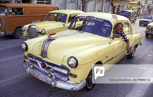 Fenster gelb fahren Taxi Hama
