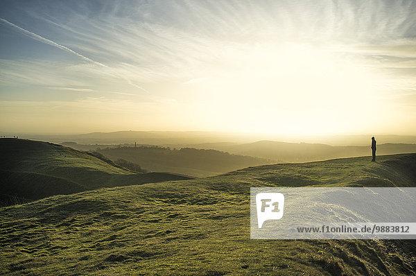 Malvern Hills  Worcestershire  England  Großbritannien